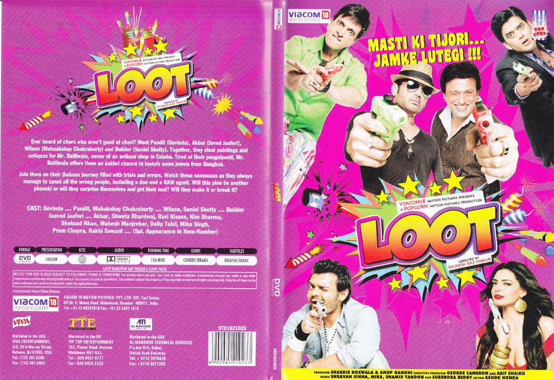 Hindi Movies DVD http://www.njmtv.com/new-on-dvds_loot-hindi-movie-dvd