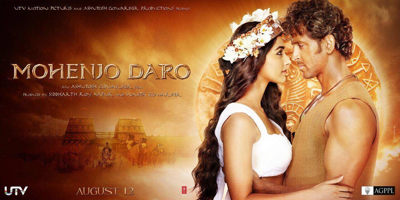 Mohenjo Daro Hindi DVD