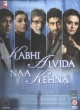 Kabhi Alvida Naa kehna Hindi  DVD