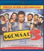 Golmaal 3 Hindi Blu Ray
