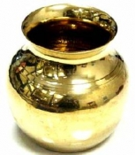 Brass Pot 1