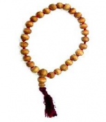 Japa Mala - Sandalwood with 27 Beads
