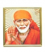 Saibaba-Photoframe Small