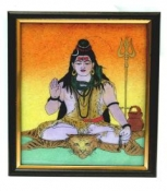 Shiva-Gemstone Photoframe