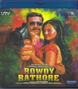 Rowdy Rathore Hindi Blu Ray