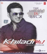 Khiladi No 1 Hindi 3 CD Set