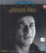 Shahrukh Khan Blockbusters hindi Combo Blu Ray Pack