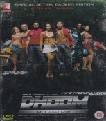 Dhoom 1 And Dhoom 2 Combo Hindi DVD