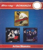 Dabangg ,Don 2, Race 2 Combo Blu Ray Pack