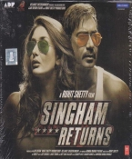Singham Returns Hindi Audio CD