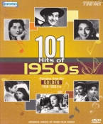 101 Hits of 1950s Hindi DVD
