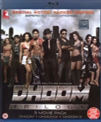 Dhoom Trilogy Blu Ray Combo Pack