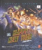 Happy New Year Hindi DVD