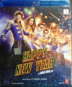 Happy New Year Hindi Blu ray
