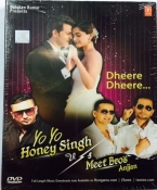 Yo Yo Honey Singh Vs Meet Bros Anjjan Hindi DVD