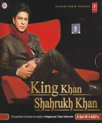 King Khan Shahrukh Khan Hindi Songs CD (Set of 4)