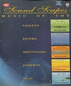 Sound Scapes Music Of The Valleys Rivers Mountains Deserts Seas Hindi CD (Set of 5)