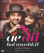 Ae Dil Hai Mushkil Hindi DVD