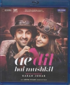 Ae Dil Hai Mushkil Hindi Blu Ray