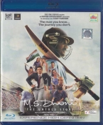 MS Dhoni Hindi Blu Ray