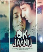Ok Jaanu Hindi CD