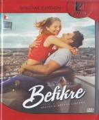 Befikre Hindi DVD