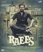 Raees Hindi DVD