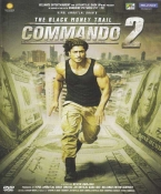 Commando 2 Hindi DVD