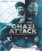 The Ghazi Attack Hindi DVD