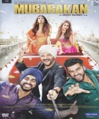 Mubarakan Hindi DVD