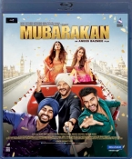 Mubarakan Hindi Blu Ray