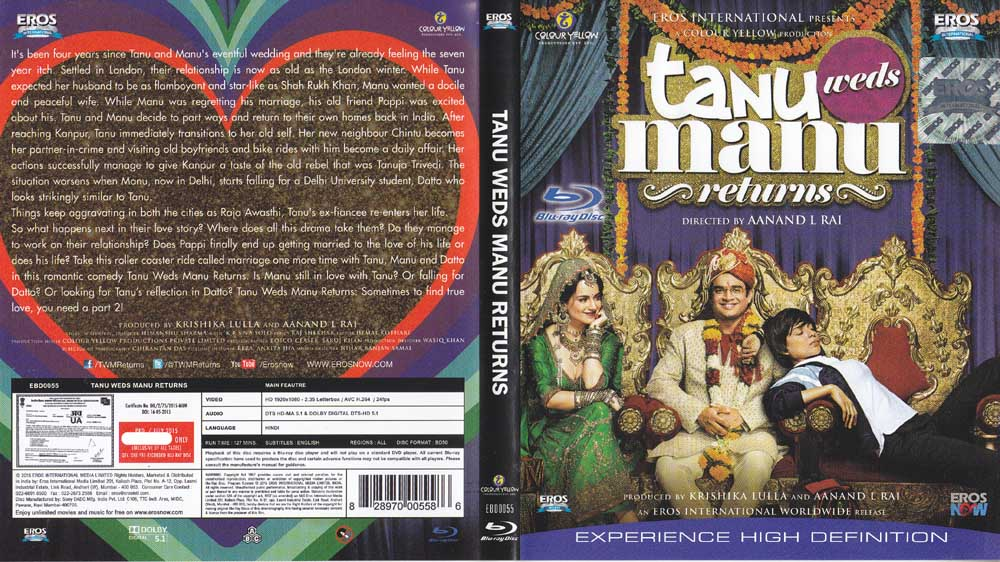 description tanu weds manu returns hindi blu ray