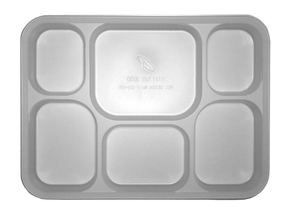 Click to Zoom  sc 1 st  NJMTV.com & Description - 25 X Punjabi 6 Section White Disposable Thali Food ...