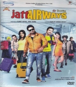 Jatt Airways Punjabi DVD