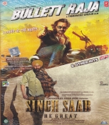 Bullett Raja and Singh Saab Hindi  Mp3